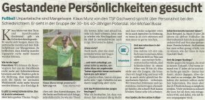 Interview Klaus Munz